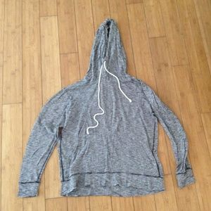 J. Crew Lightweight Hooded Pullover